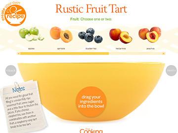 cyor rustic fruit tart